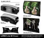LOREO Lite 3D Viewer - Black & White - Product Composite